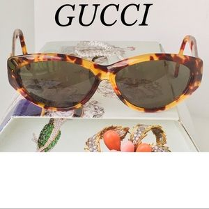 GUCCI VINTAGE TORTOISE SHELL MADE IN ITALY